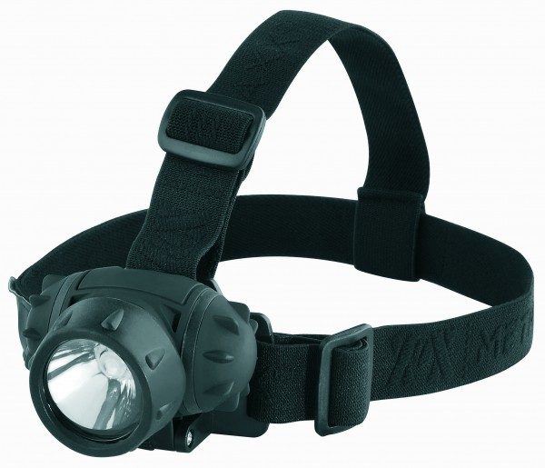 "Metmaxx® LED MegaBeam Kopflampe ""HeadLightSecurityEvo"" schwarz"