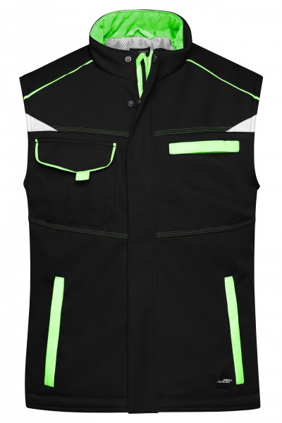 Workwear Softshell Padded Vest - COLOR -