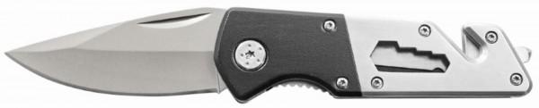 """Metmaxx® Outdoormesser """"MyTool"""" schwarz/silber"""